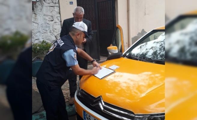 Büyükşehir'den Ticari Taksilere Denetim