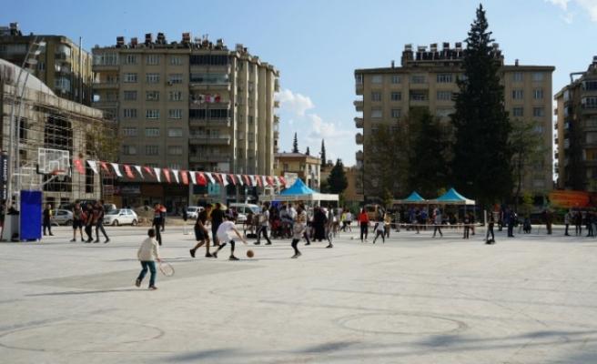 Büyükşehir'in Sokak Turnuvası Başladı