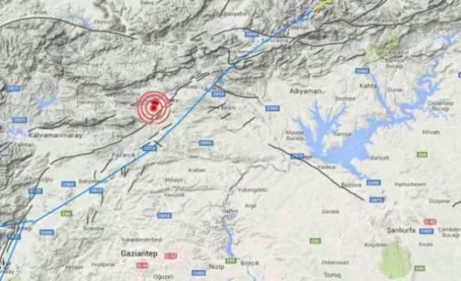 Çağlayancerit'te 3,2 Büyüklüğünde Deprem