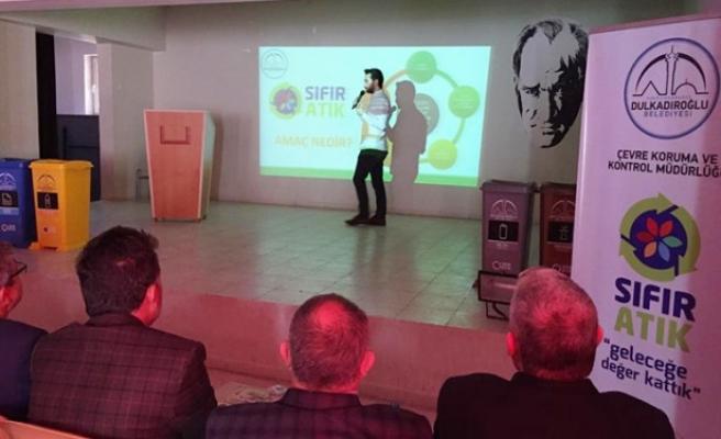 Dulkadiroğlu Belediyesi Sıfır Atık Eğitim Programını Sürdürüyor
