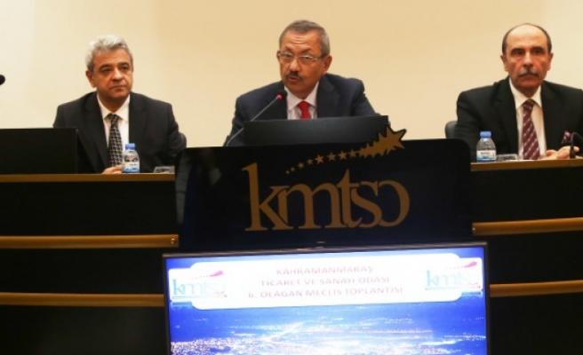 KMTSO Meclisi 6. Toplantısını Yaptı