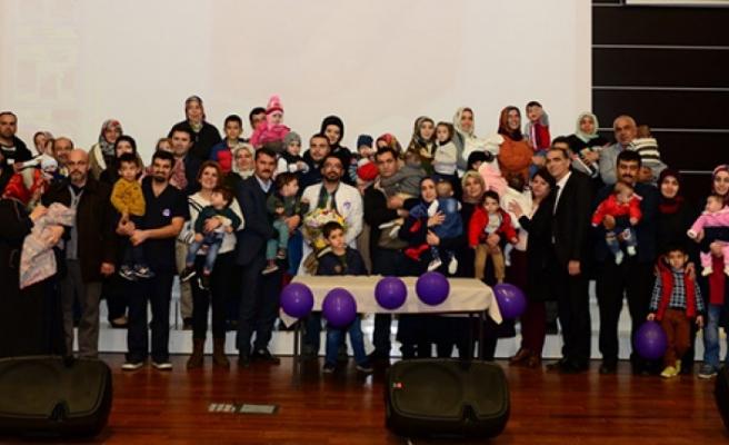 KSÜ'de 17 Kasım Dünya Prematüre Günü Kutlandı