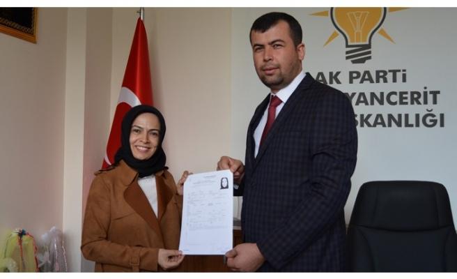Sultan Ünal, Çağlayancerit Belediye Başkanlığına Talip Oldu