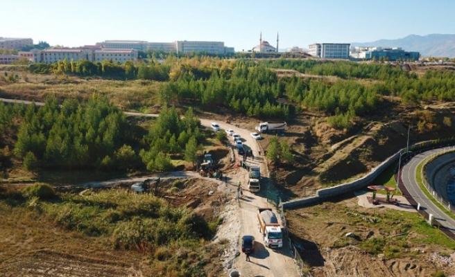 Üniversite-Üngüt-Kılavuzlu Bölgesinin Kanalizasyon İnşaatına Başlandı