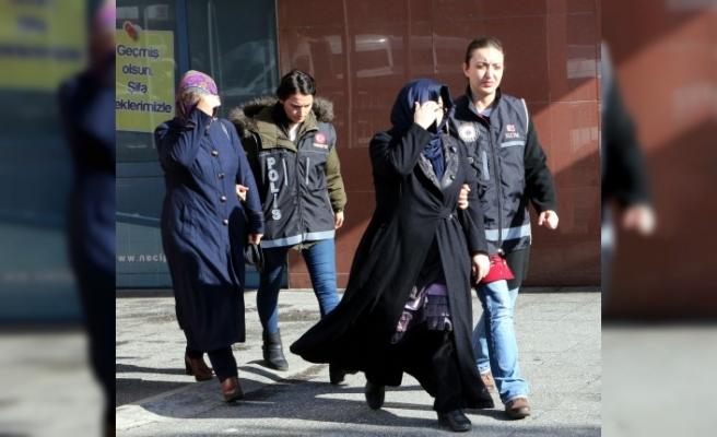 FETÖ/PDY Operasyonunda 4 Kadın Gözaltına Alındı