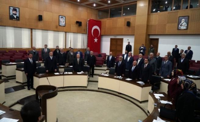 Büyükşehir Meclisi 2019'un İlk Toplantısını Yaptı