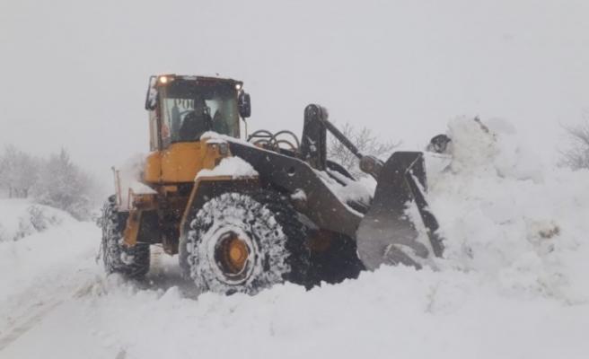 Büyükşehir'in Kış Çalışmaları Devam Ediyor