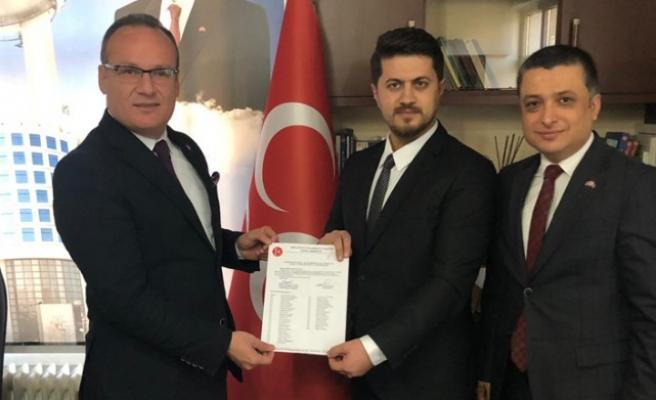 MHP Dulkadiroğlu İlçe Başkanlığına Ömer Emrah Satıcı Atadı
