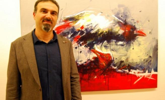 Ressam Murat Oğuzun Sergisi