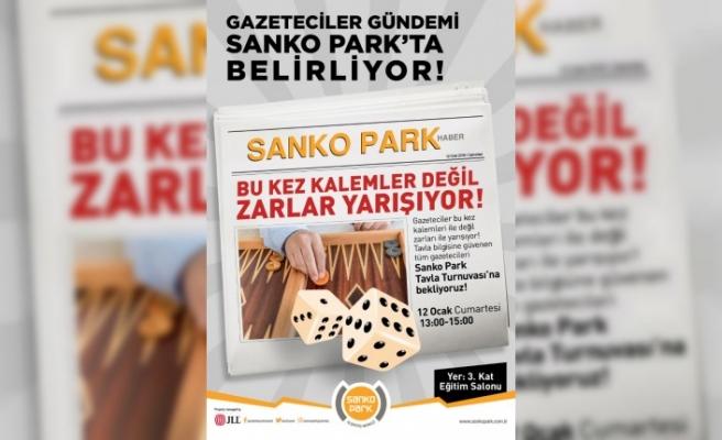 SANKO Park'tan Gazetecilere Özel Ödüllü Tavla Turnuvası