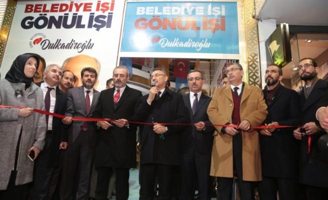 AK Parti Seçim Bürosu Açılışını Cumhurbaşkanı Yardımcısı Oktay Yaptı