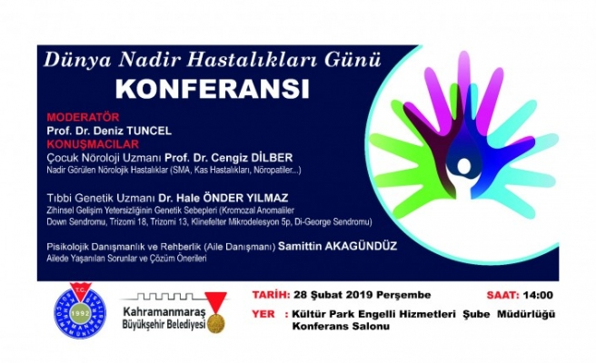 Büyükşehir'den Nadir Hastalıklar Konferansı