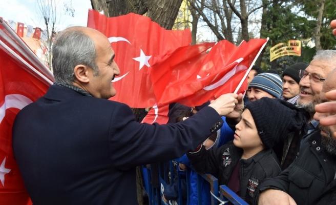Dulkadiroğlu'ndan 12 Şubat Anısına 12 Bin Türk Bayrağı