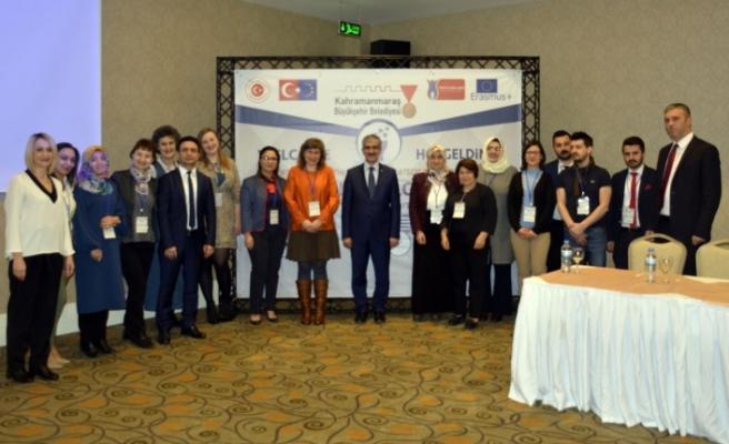 Erasmus+ Stratejik Ortaklık Programı Açılış Toplantısı Yapıldı