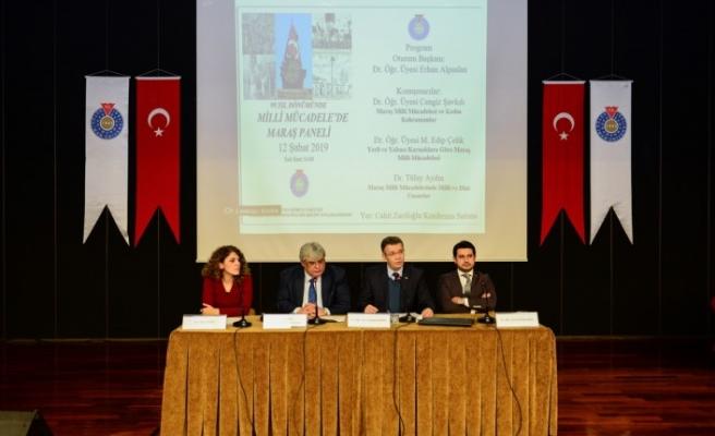 KSÜ'de, Milli Mücadele'de Maraş Paneli Düzenlendi