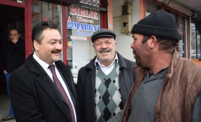 Mehmet Gürbüz Esnafları Ziyaret etti