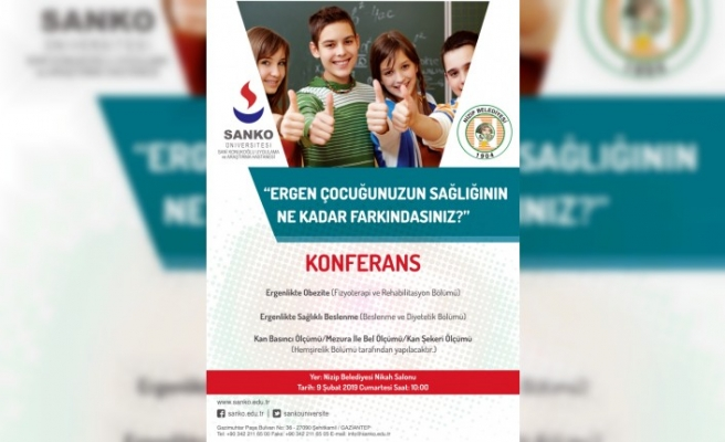 SANKO Üniversitesi Nizip'te Bilgilendirme Yapacak