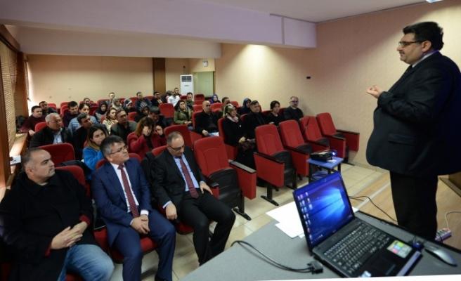 Tarımsal Yayım ve Danışmanlık Hizmetleri Eğitim Toplantısı Yapıldı