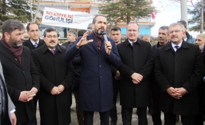 Milletvekili Özdemir; Cumhurbaşkanımız Göksun'a Bir Güzellik Yaptı
