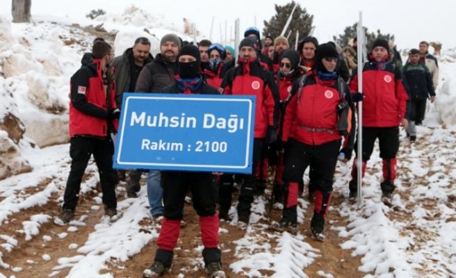 Muhsin Yazıcıoğlu Keş Dağı'nda Anıldı