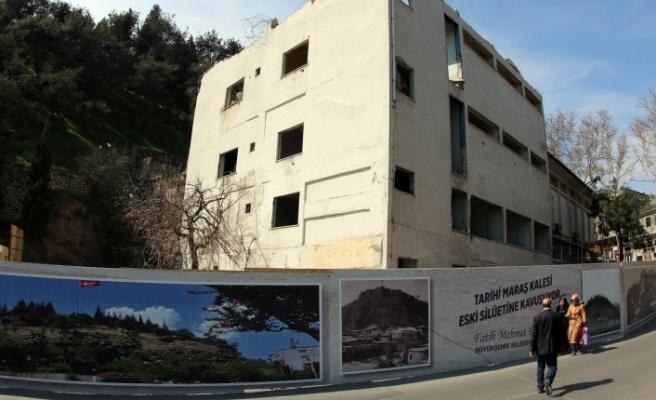 Tarihi Maraş Kalesi Etrafında Çevre Düzenlemesi