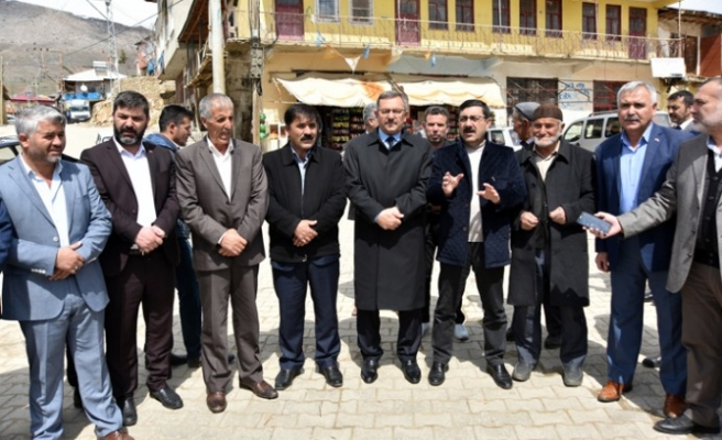 Başkan Aydın İlk Ziyaretini Büyükkızılcık Mahallesine Yaptı
