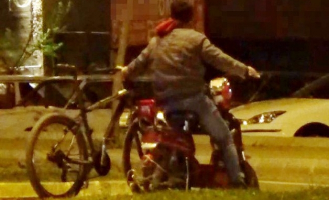 Böyle Bisiklet Kullanıcısı Görülmedi!