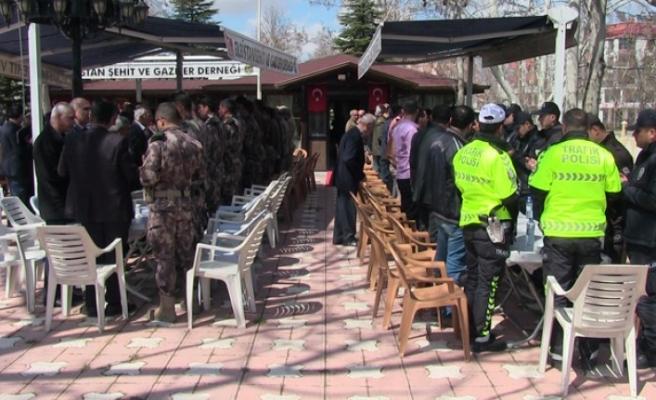Elbistan'da Şehit Özel Harekatçı İçin Mevlit Okutuldu