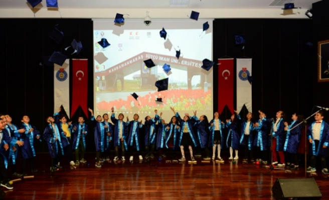KSÜ Çocuk Üniversitesi İlk Mezunlarını Verdi