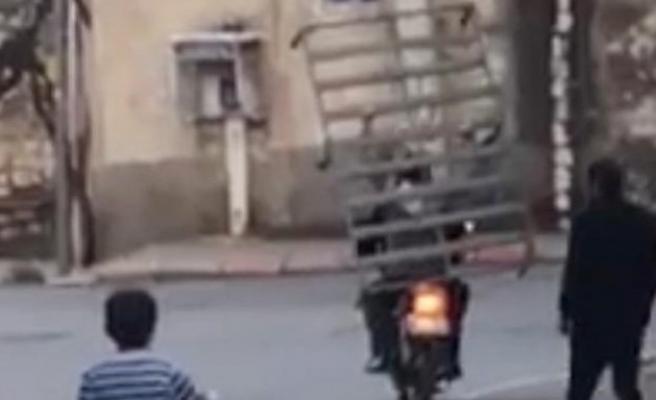 Motosikletle Tehlikeli Taşımacılık