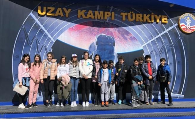 SANKO Okulları Öğrencileri Uzay Kampında