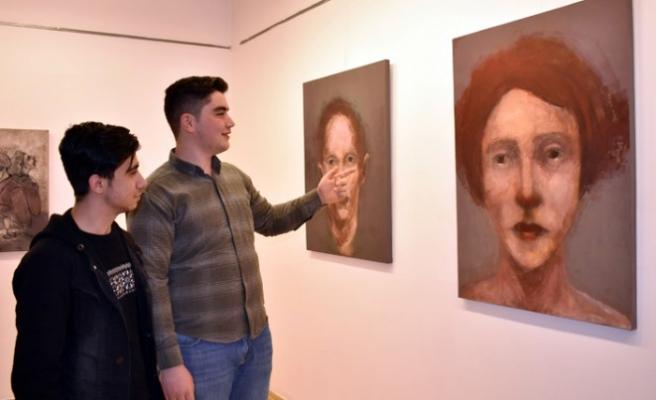 SANKO Sanat Galerisi'nde Sema Barlas'ın Sergisi