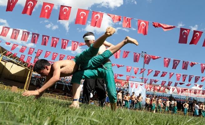 3 Mayıs Milliyetçiler Günü Güreş Festivali Düzenlendi