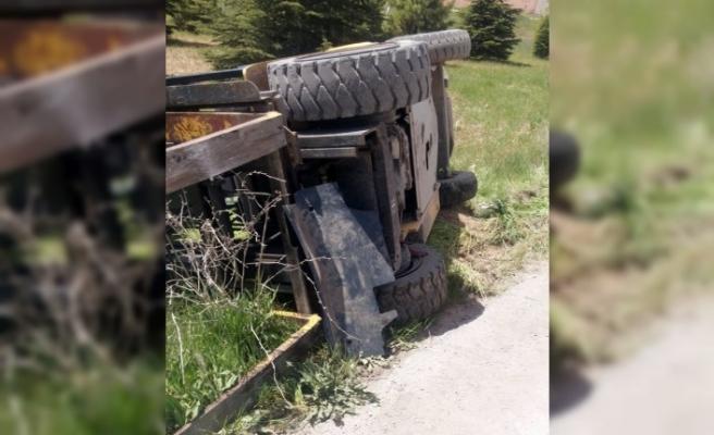 Forkliftin Altına Kalan İşçi Yaralandı