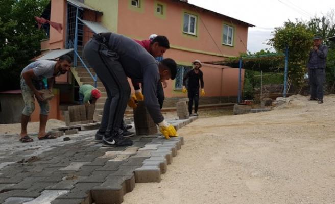 Afşin Belediyesi Çalışmalara Devam Ediyor…