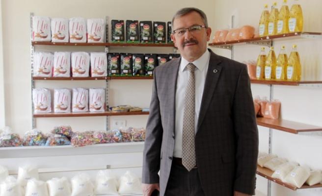 Göksun'da Sosyal Market İhtiyaç Sahibi Vatandaşa Cansuyu Oldu