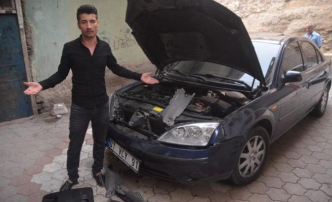 Hararet Yapan Otomobile Müdahale Eden İtfaiyeye Suç Duyurusu