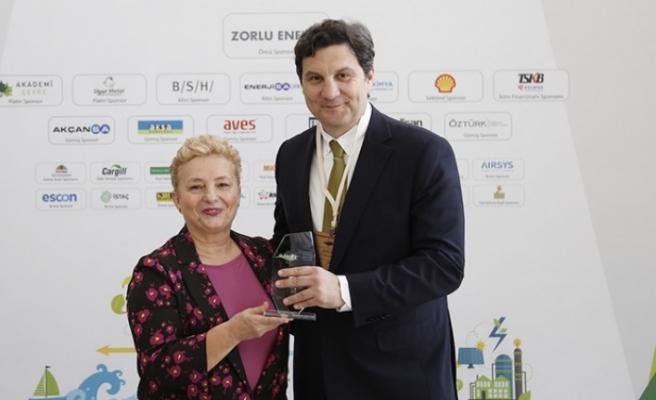 Kahramanmaraş'a Düşük Karbon Kahramanı Ödülü