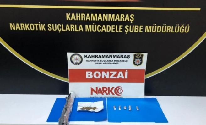 Kahramanmaraş'ta Uyuşturucu Satıcısı Kıskıvrak Yakalandı