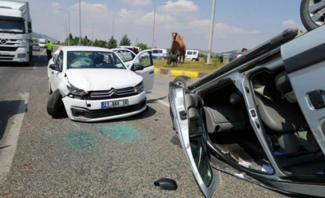 Kahramanmaraş'ta Trafik Kazası, Çok Sayıda Yaralı Var