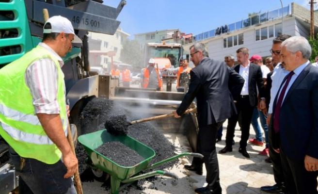 Başkan Güngör, Andırın'da İncelemelerde Bulundu