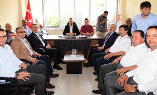 Başkan Güngör'den AK Parti Andırın İlçe Teşkilatına Teşekkür