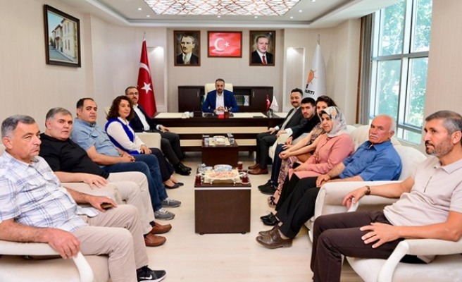 Başkan Güngör'den AK Parti Elbistan Teşkilatına Teşekkür Ziyareti