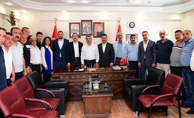 Başkan Güngör'den MHP Elbistan Teşkilatına Ziyaret