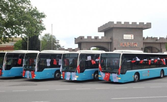 Belediye Otobüsleri 15 Temmuz'da Ücretsiz