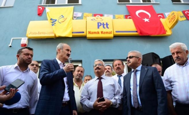 Dulkadiroğlu Gençlik Merkezi'nde PTT Hizmeti