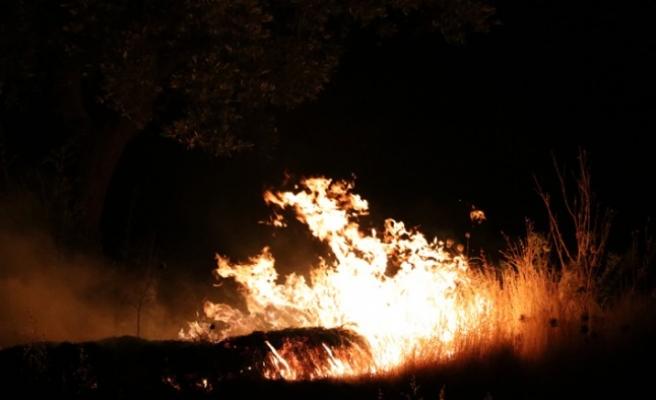 Havai Fişekler Yangına Sebep Oldu