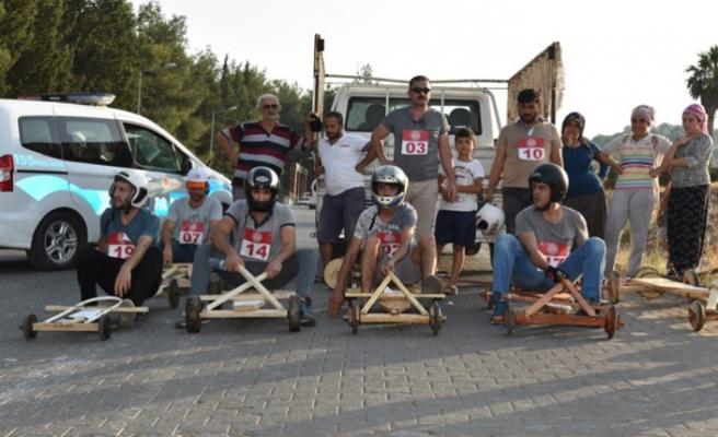"""Tahta Arabalarla """"Türkoğlu Rally"""""""