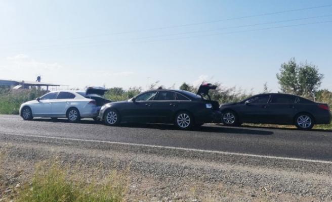 AK Parti Kahramanmaraş Milletvekilleri Kaza Yaptı