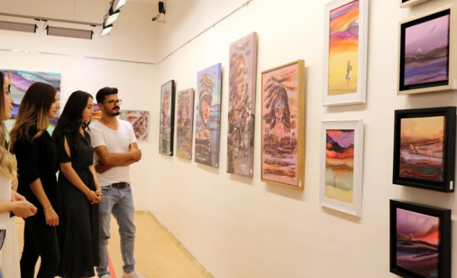 Ressam Mehmet Akif Orçan'In Sergisi Sanko Sanat Galerisinde
